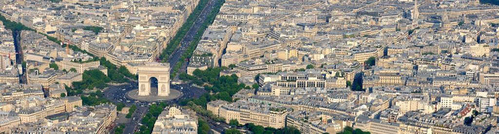 Paris (RÈgion Ile-de-France) en vues aÈriennes obliques